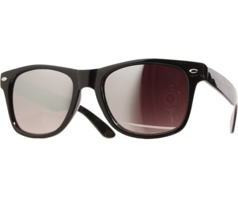 Mirrored Cool Sunglasses - Black/Mirror