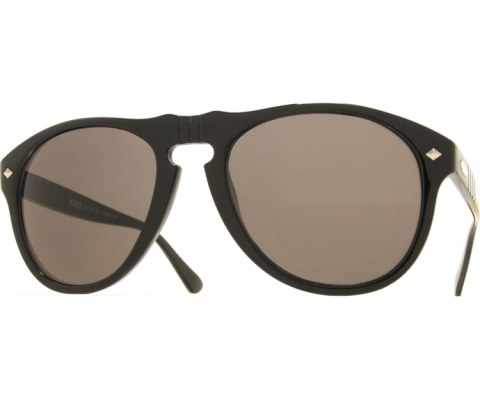 Stealth Aviator Sunglasses - Black/SuperDark