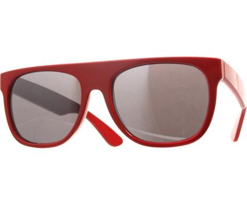 The Minimalist Sunglasses - Red/Black