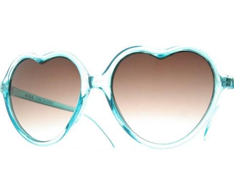 Clear Heart Sunglasses