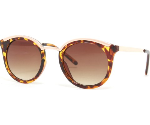 Modern Cool Sunglasses - Tortoise/Brown