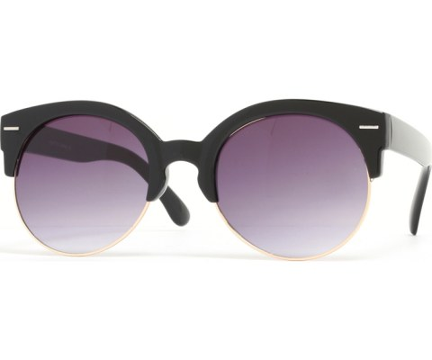 Half Gold Sunglasses - BlkGld/Black