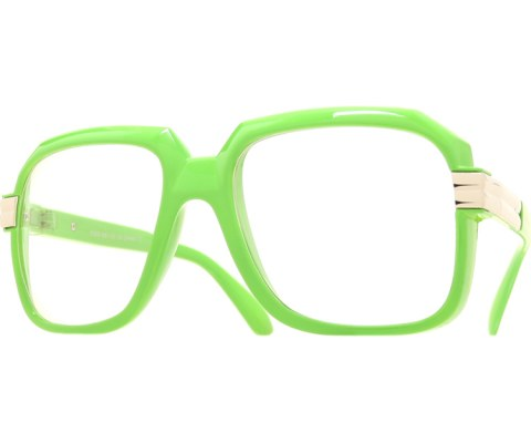 Pop Hip Hop Glasses - Green/Clear