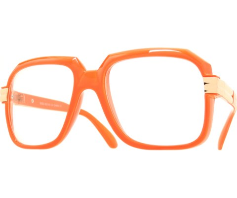 Pop Hip Hop Glasses - Orange/Clear