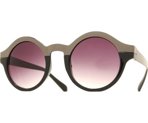 Top Metal Sunglasses - BlkPwt/Smoke