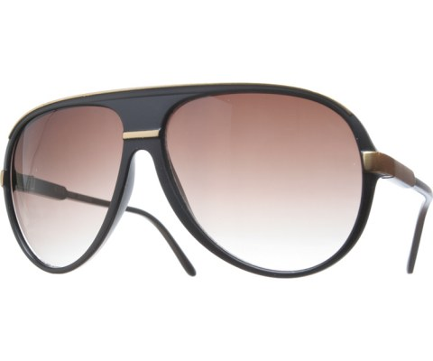Tron Aviators - Gold/Brown