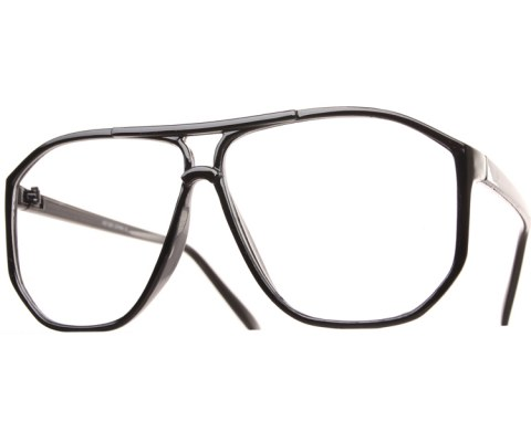 Corner Blocked Aviator Glasses