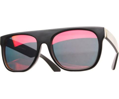 Minimalist Revo Sunglasses - MatteBlk/RedRevo