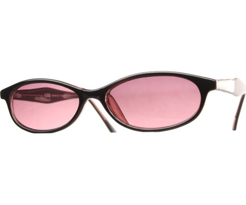 90s Skinny Sunglasses - BlkRed/Red