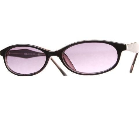 90s Skinny Sunglasses - BlkPurp/Purple