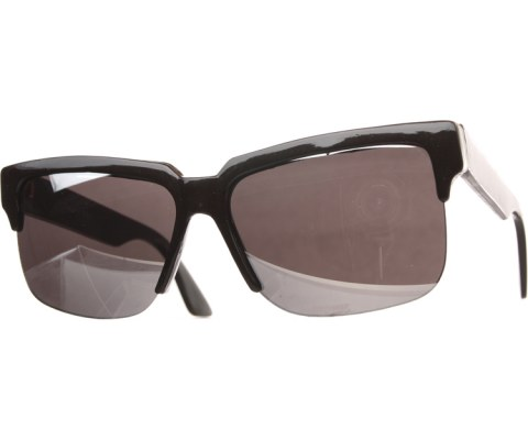 True Vintage Sunglasses : 84 - Black/Mirror