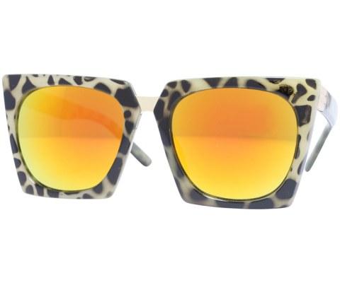 Revo Plastic Cateye Sunglasses - Tortoise/Revo