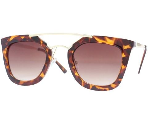 Modern 90s Sunglasses - Tortoise/Brown