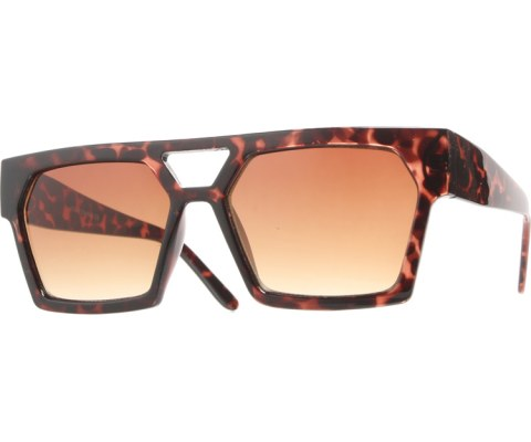 Squared Chunky Sunglasses - Tortoise/Brown