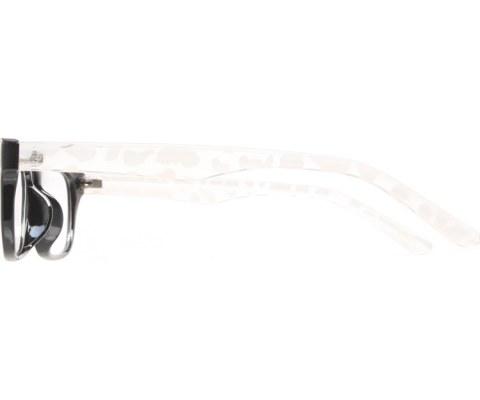 Non-Perscription Glasses - White/Clear