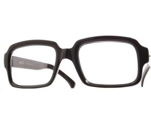 Block Clear Glasses