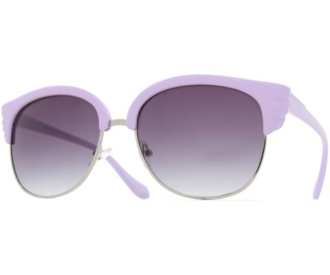 Angel Wings Sunglasses - Purple/Smoke