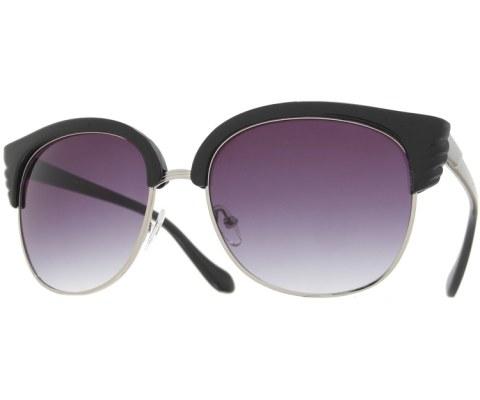 Angel Wings Sunglasses - BlkSil/Smoke
