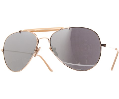 Pilot Mirror Aviator Sunglasses