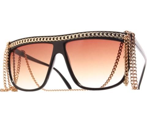Gaga Full 12in Chain Sunglasses