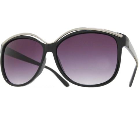 Metal High Brow Sunglasses