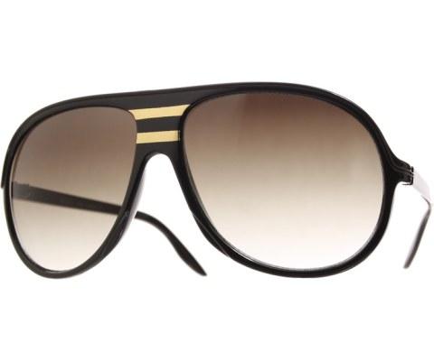 Gold West Aviator Sunglasses