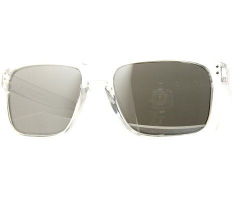 Side Metal Aviator Sunglasses - Clear/Mirror