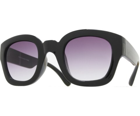 Thick Sunglasses - Black/Smoke