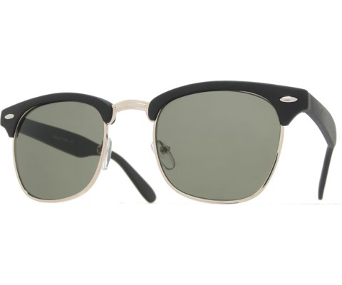 Soft Touch Cool Sunglasses - Black/Green