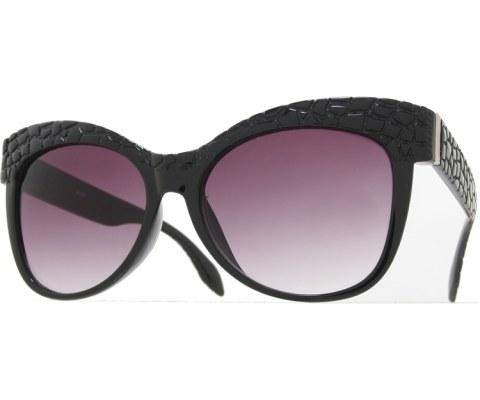 Croc Sunglasses - Black/Smoke