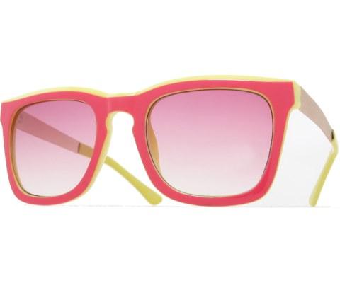 2 Tone Sunglasses - PnkYel/Pink
