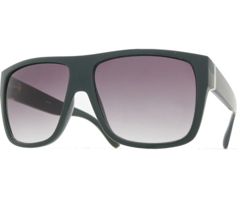 Side Metal Bar Sunglasses - Gray/Smoke