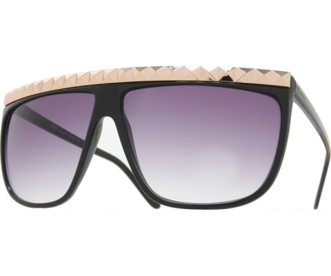 Oversized Studded Sunglasses