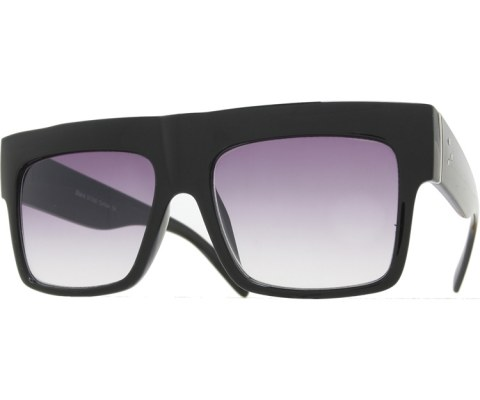 High Block Sunglasses - Black/Smoke