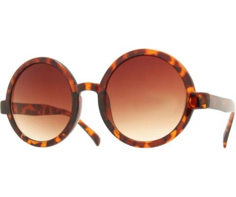 Circle Sunglasses - Tortoise/Brown