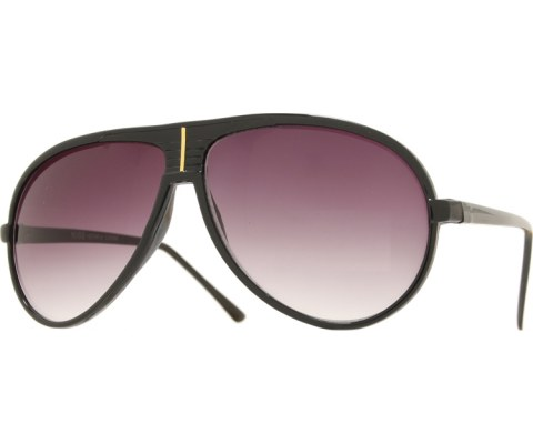 Aviator Sunglasses w/ Gold Line