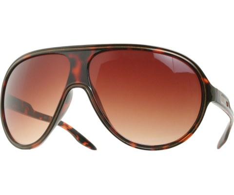 Colored Outlined Aviators - Tortoise/Brown