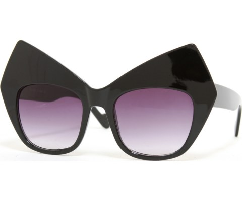 High Point Brow Sunglasses - Black/Smoke