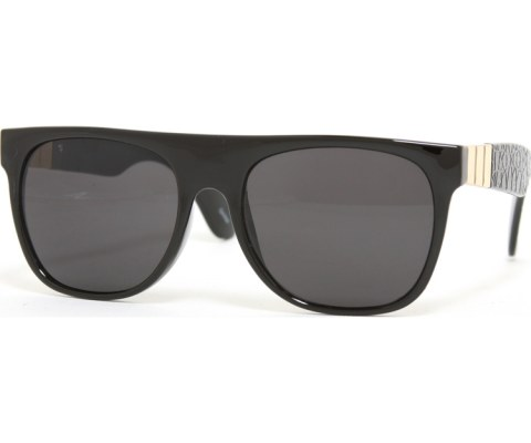 Side Gator Sunglasses - Black/Black