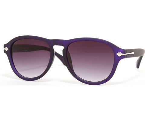 Side Arrow Aviators - Purple/Smoke