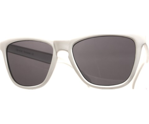 Cool Mirror Frog Sunglasses - White/Mirror