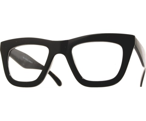 Cat Like Cool Glasses - Black/Clear