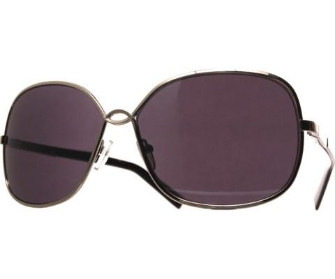 Metal U Sunglasses - Gold/Black