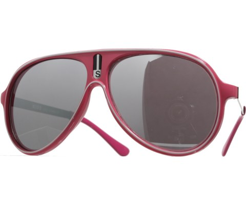 Vintage Mirrored Lined Sunglasses - Pink/Mirror
