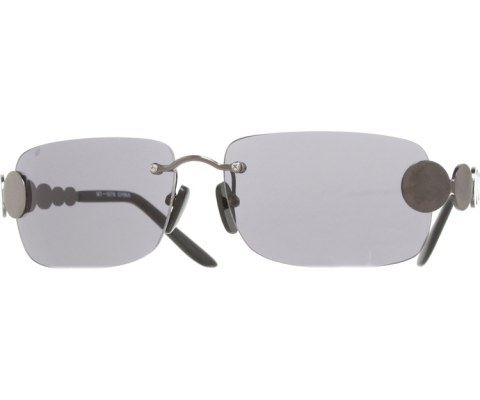 Circle Hinge Sunglasses - Pewter/Black