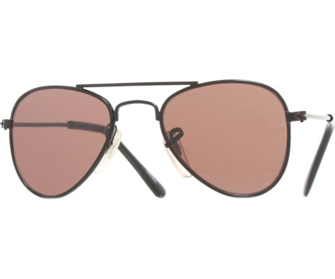Baby Aviator Sunglasses - Black/Brown