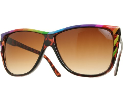 Vintage Rainbow Sunglasses - Tortoise/Brown