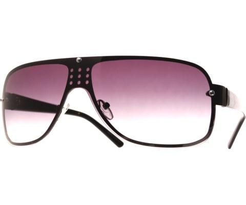 Berreta Dimensional Sunglasses - Black/Smoke