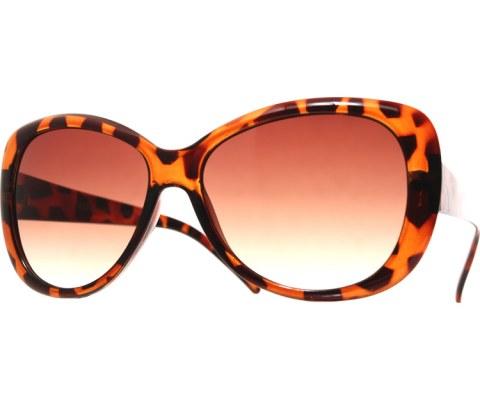 Vintage Diva Sunglasses - Tortoise/Smoke