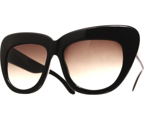 Oversized High Brow Sunglasses